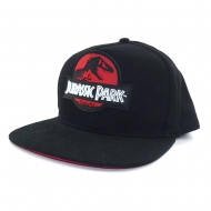 Jurassic Park - Casquette hip hop Red Logo Jurassic Park