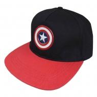 Marvel - Casquette hip hop Logo Captain America