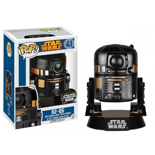 Star Wars - Figurine POP! R2-Q5 Convention Special 10 cm