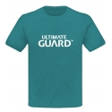 Ultimate Guard - T-Shirt Wordmark Bleu Pétrole
