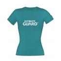 Ultimate Guard - T-Shirt femme Wordmark Bleu Pétrole