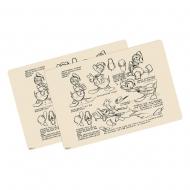 Disney - Pack 2 sets de table Donald Duck Vintage
