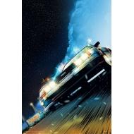 Retour vers le futur - Lithographie DeLorean Limited Edition 42 x 30 cm