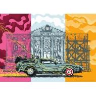 Retour vers le futur - Lithographie Choper Nawers DeLorean Limited Edition 42 x 30 cm
