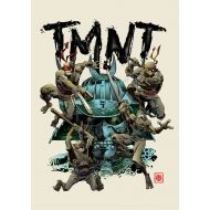 Les Tortues Ninja - Lithographie Les Tortues Ninja Limited Edition 42 x 30 cm