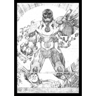 DC Comics - Lithographie Darkseid Comic Book Art Print 42 x 30 cm