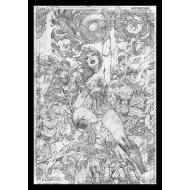 DC Comics - Lithographie Wonder Woman Comic Book Art Print 42 x 30 cm