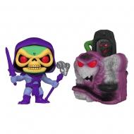 Les Maîtres de l'Univers - Figurine POP! Snake Mountain w/Skeletor 9 cm
