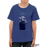 THE HOBBIT - Tshirt Bilbo enfant MC blue basic