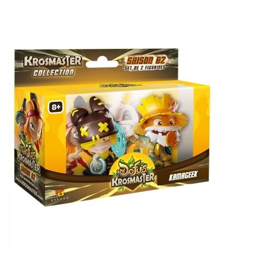 KROSMASTER ARENA - Pack de 2 figurines S2 Kamageek