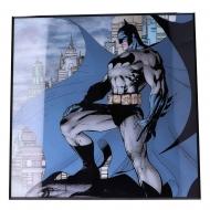Batman - Décoration murale Crystal Clear Picture Gotham 32 x 32 cm