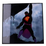 Superman - Décoration murale Crystal Clear Picture The New 52 32 x 32 cm