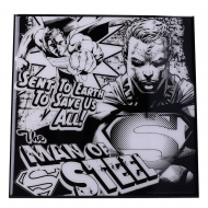 Superman - Décoration murale Crystal Clear Picture The Man of Steel 32 x 32 cm