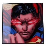 Superman - Décoration murale Crystal Clear Picture Rebirth 32 x 32 cm