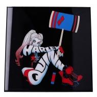 Batman - Décoration murale Crystal Clear Picture Harley Quinn 32 x 32 cm