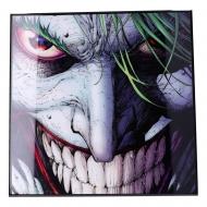 Batman - Décoration murale Crystal Clear Picture The Joker 32 x 32 cm