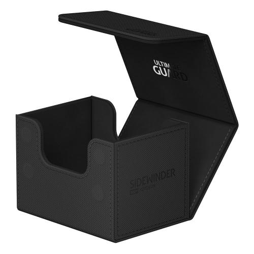 Ultimate Guard - Sidewinder 100+ XenoSkin Monocolor Noir