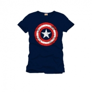 Marvel Comics - T-Shirt Shield Logo navy