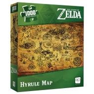 The Legend of Zelda - Puzzle Hyrule Map (1000 pièces)
