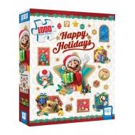 Nintendo - Puzzle Super Mario Happy Holidays (1000 pièces)