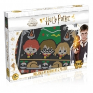 Harry Potter - Puzzle Christmas Jumper 1 Holiday at Hogwarts (1000 pièces)