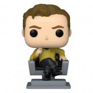 Star Trek : The Original Series - Figurine POP! Cap Kirk in Chair 9 cm