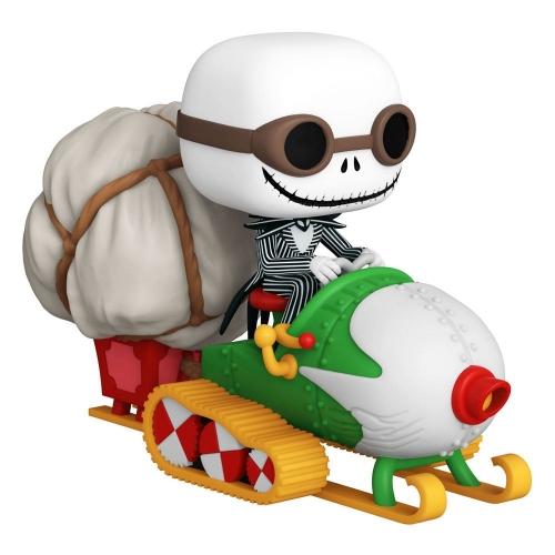 L'étrange Noël de Mr. Jack - Figurine POP! Jack w/Goggles & Snowmobile 18 cm