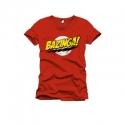 The Big Bang Theory - T-Shirt Bazinga rouge