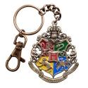 Harry Potter - Porte-clés métal Hogwarts 5 cm