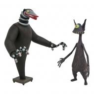 L'Étrange Noël de monsieur Jack - Pack 2 figurines Creature under the Stairs & Cyclops 18 cm