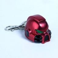 Warhammer 40K - Porte-clés métal Space Marine MKVII Helmet Blood Angels