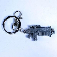 Warhammer 40K - Porte-clés métal Bolter Metallic Finish