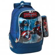 Avengers - Sac à dos 30cm avec trousse