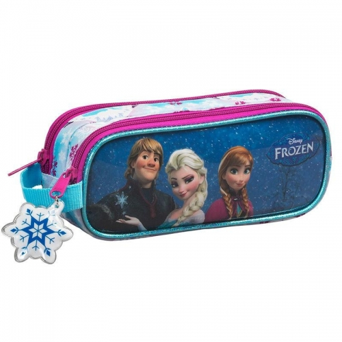 La Reine des neiges - Trousse double compartiments 21cm