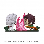 Demon Slayer - Pack 2 Figurines POP! Tanjiro vs. Rui 9 cm