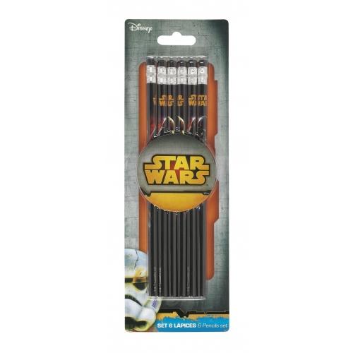 Star Wars - Set de 6 Stylos