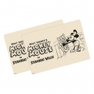 Disney - Pack 2 sets de table Mickey Mouse Steamboat Willie