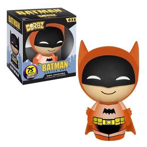 Batman - Figurine Vinyl Sugar Dorbz 75th Anniversary Orange Rainbow 8 cm