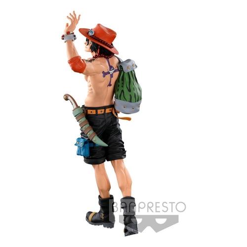 One Piece - Statuette BWFC 3 Super Master Stars Piece The Portgas D. Ace The Original 30 cm