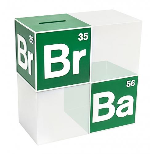 Breaking Bad - Tirelire / serre-livre BrBa Logo