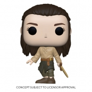 Game of Thrones - Figurine POP! Arya Training 9 cm