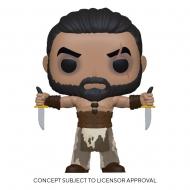 Game of Thrones - Figurine POP! Khal Drogo w/Daggers 9 cm