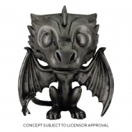 Game of Thrones - Figurine POP! Drogon (Iron) 9 cm