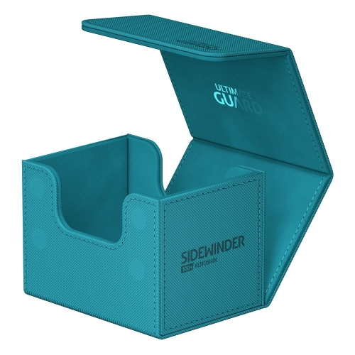 Ultimate Guard - Sidewinder 100+ XenoSkin Monocolor Bleu Pétrole