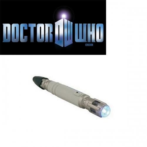 Doctor Who - Porte-Clef Lampe torche sonic screwdriver !