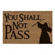 Le Seigneur des Anneaux - Paillasson You Shall Not Pass 60 x 40 cm