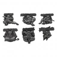 Les Tortues Ninja - Pack 6 pin's Les Tortues Ninja Limited Edition