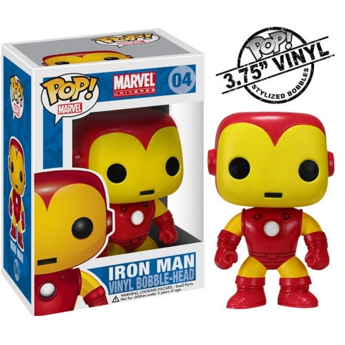 Marvel - Figurine Pop Iron Man Classic 10cm
