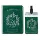 Harry Potter - Set étiquette de bagage & étui pour carte de transport Slytherin