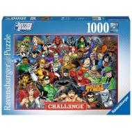 DC Comics - Puzzle Challenge Justice League (1000 pièces)
